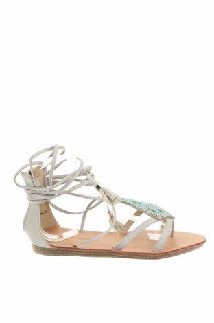 Sandale Forever Folie, Mărime 39, Culoare Gri, Piele ecologică, Preț 68,42 Lei