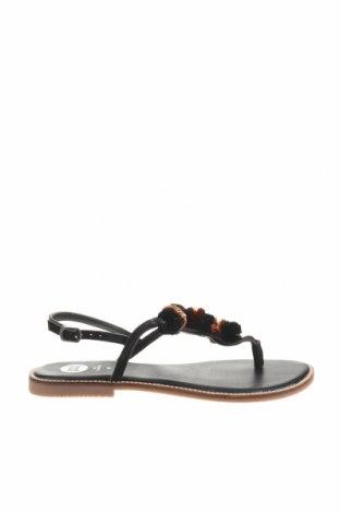 Sandály Gioseppo, Velikost 40, Barva Černá, Pravá kůže, Cena  330,00Kč