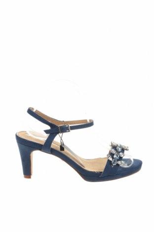 Σανδάλια Maria Mare, Μέγεθος 39, Χρώμα Μπλέ, Κλωστοϋφαντουργικά προϊόντα, Τιμή 13,08€