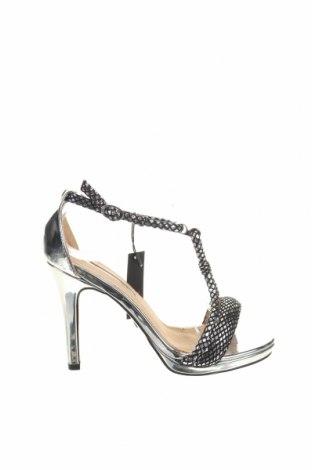 Sandale Maria Mare, Mărime 37, Culoare Gri, Piele ecologică, Preț 83,45 Lei