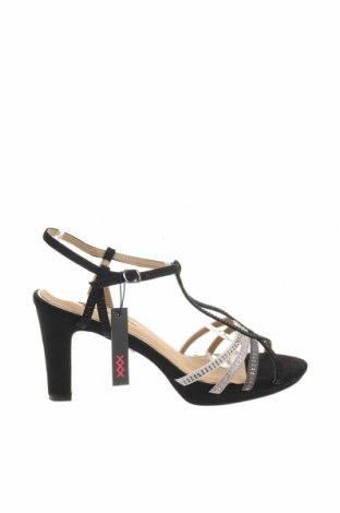 Σανδάλια Maria Mare, Μέγεθος 41, Χρώμα Μαύρο, Κλωστοϋφαντουργικά προϊόντα, Τιμή 14,90€
