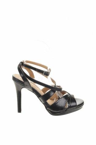 Σανδάλια Maria Mare, Μέγεθος 37, Χρώμα Μαύρο, Δερματίνη, Τιμή 13,08€