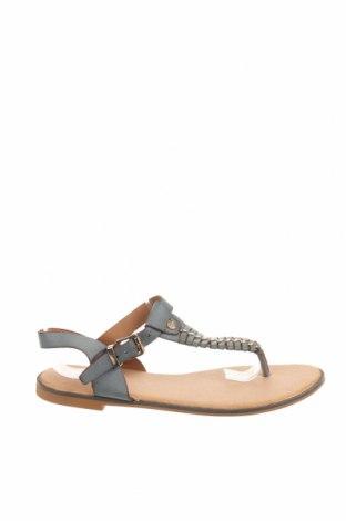 Sandale Raxmax, Mărime 36, Culoare Gri, Piele ecologică, Preț 58,03 Lei