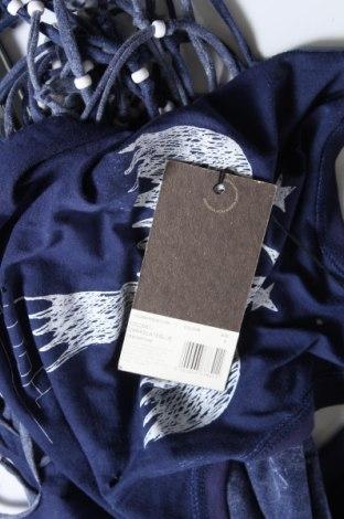 Туника, Размер S, Цвят Син, 100% памук, Цена 23,52лв.
