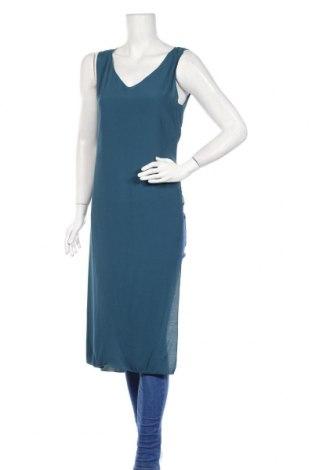 Tunică United Colors Of Benetton, Mărime S, Culoare Albastru, Viscoză, Preț 50,99 Lei