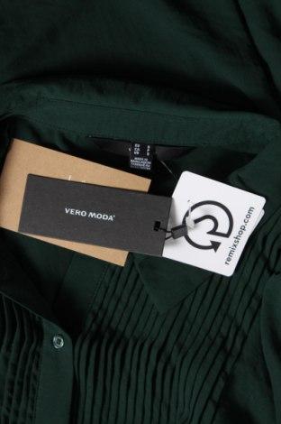 Туника Vero Moda, Размер S, Цвят Зелен, Полиестер, Цена 31,28лв.