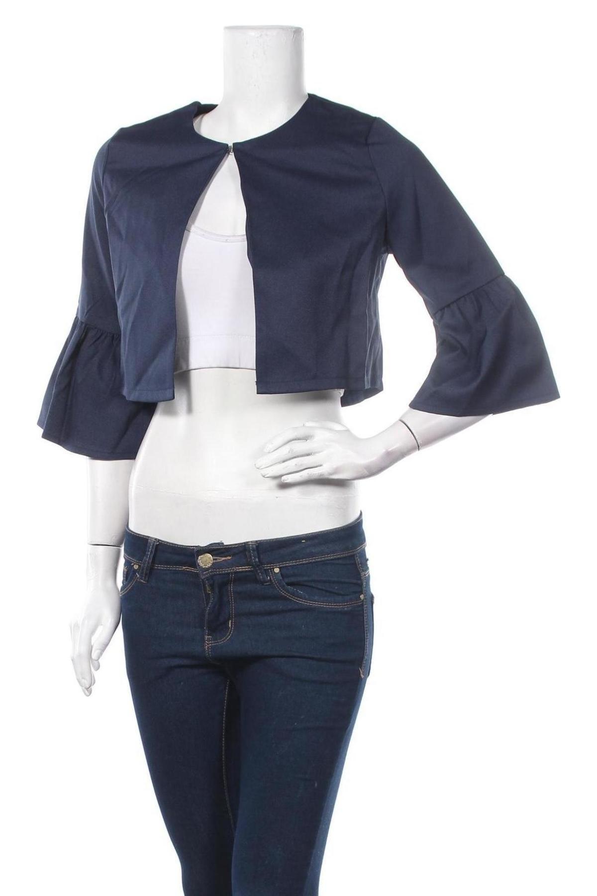 Γυναικεία ζακέτα Molly Bracken, Μέγεθος S, Χρώμα Μπλέ, Πολυεστέρας, Τιμή 8,89€