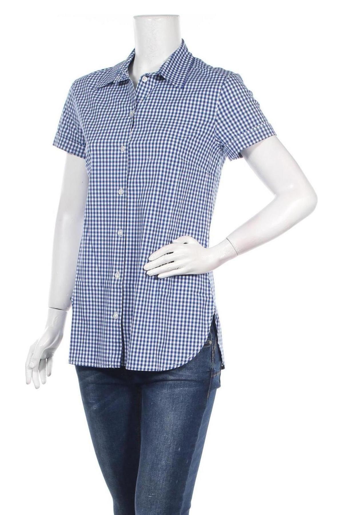Дамска риза La Fee Maraboutee, Размер M, Цвят Син, Памук, Цена 61,74лв.
