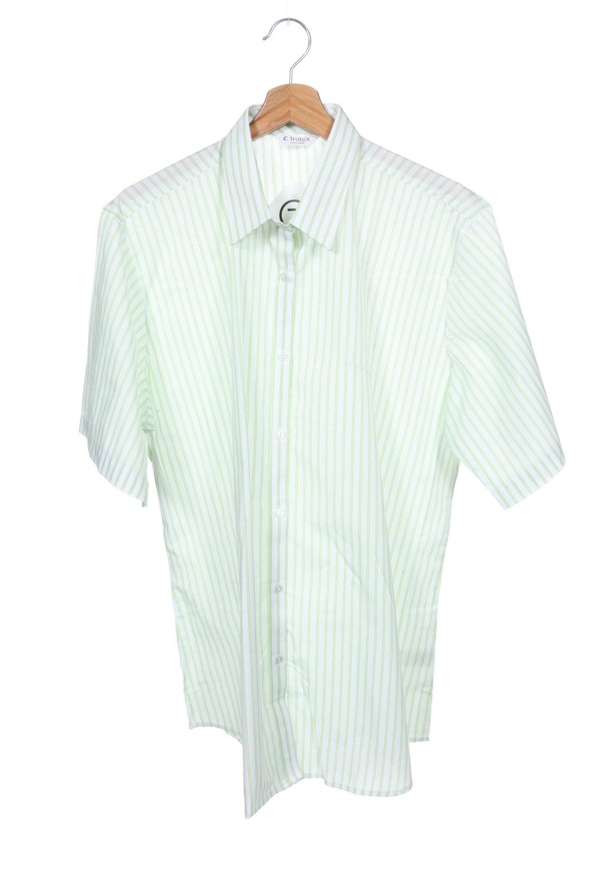Παιδικό πουκάμισο Trutex, Μέγεθος 15-18y/ 170-176 εκ., Χρώμα Λευκό, 65% πολυεστέρας, 35% βαμβάκι, Τιμή 9,28€