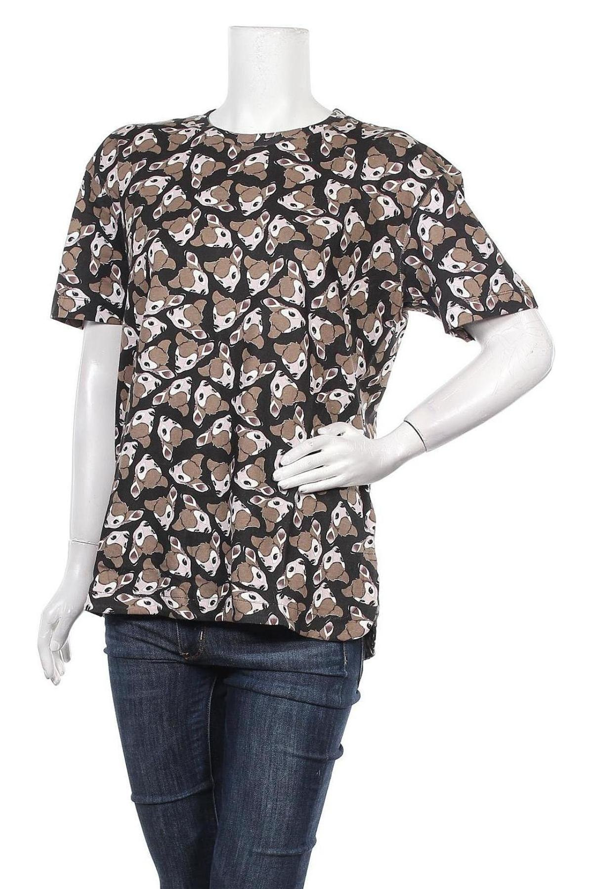 Дамска тениска Eleven Paris, Размер S, Цвят Многоцветен, 100% памук, Цена 41,40лв.