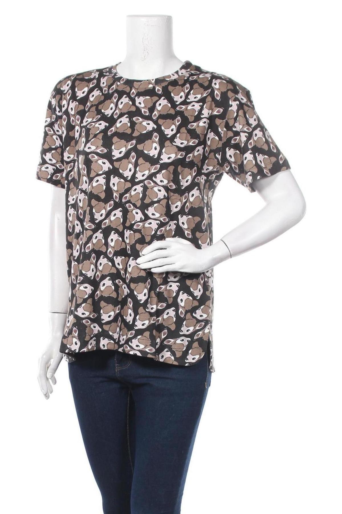 Дамска тениска Eleven Paris, Размер XS, Цвят Многоцветен, 100% памук, Цена 33,12лв.