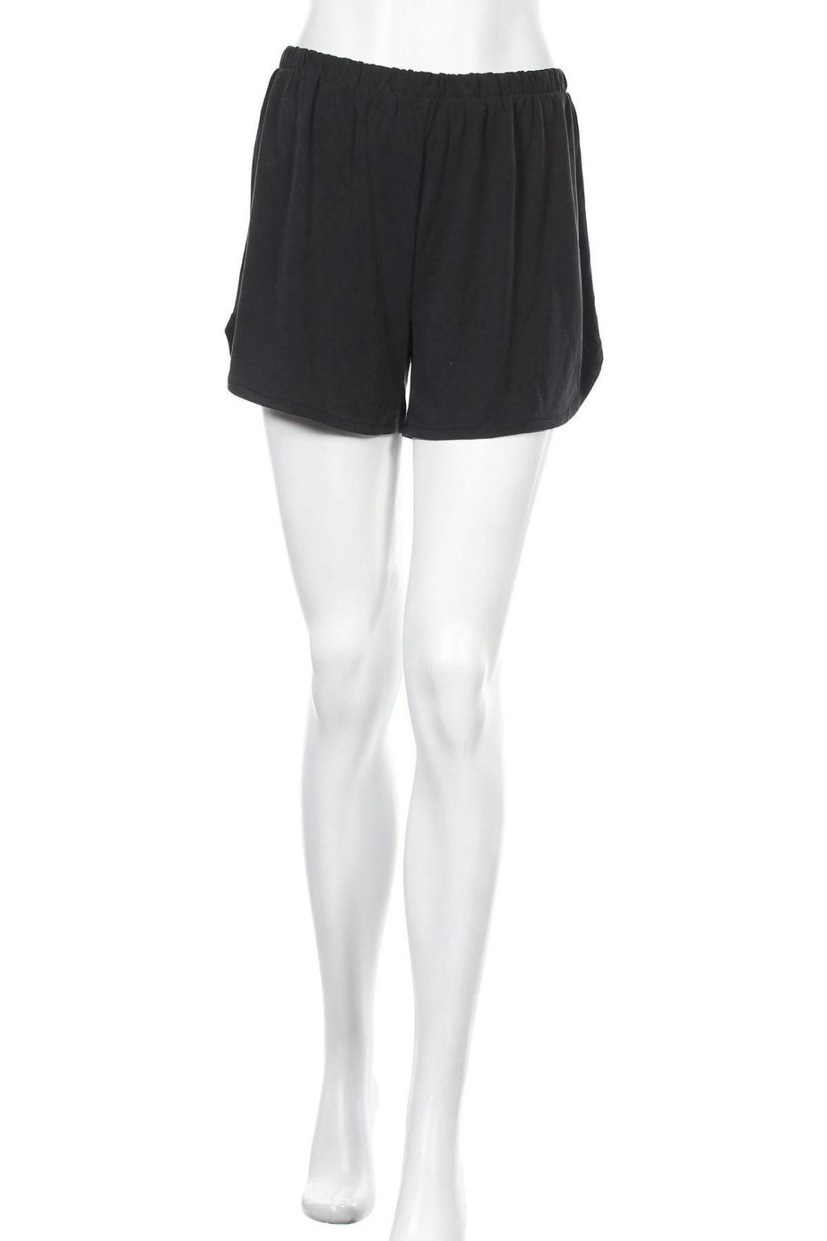 Γυναικείο κοντό παντελόνι Noisy May, Μέγεθος M, Χρώμα Μαύρο, 70% μοντάλ, 30% πολυεστέρας, Τιμή 10,21€