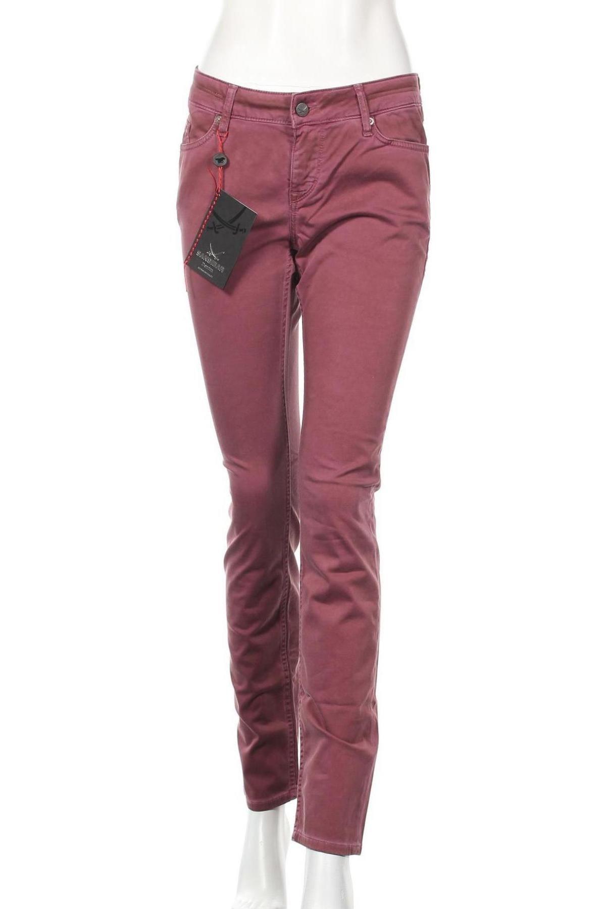 Дамски панталон Sansibar, Размер M, Цвят Лилав, 97% памук, 3% еластан, Цена 34,02лв.