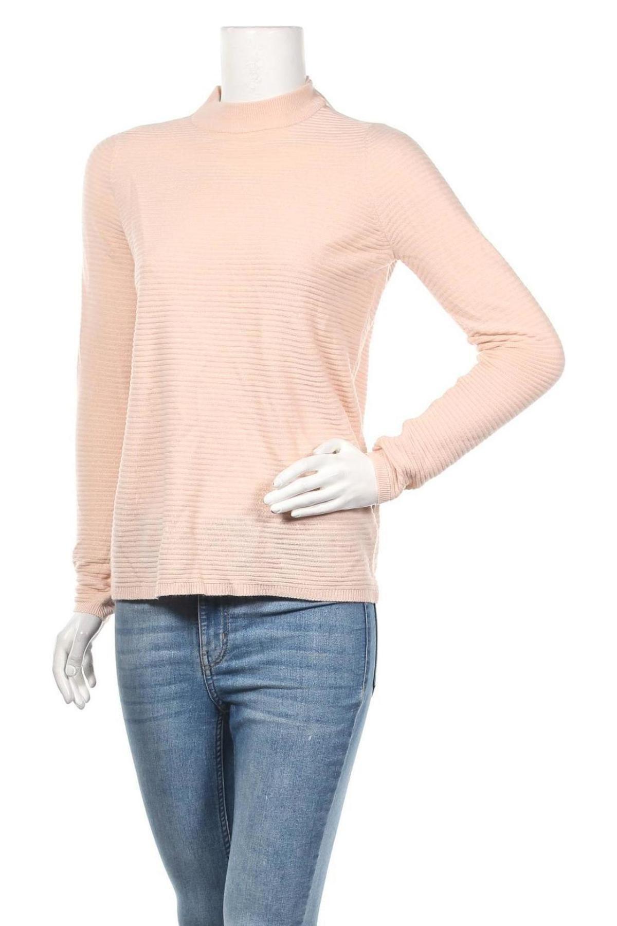 Дамски пуловер Vero Moda, Размер S, Цвят Розов, Акрил, Цена 71,25лв.