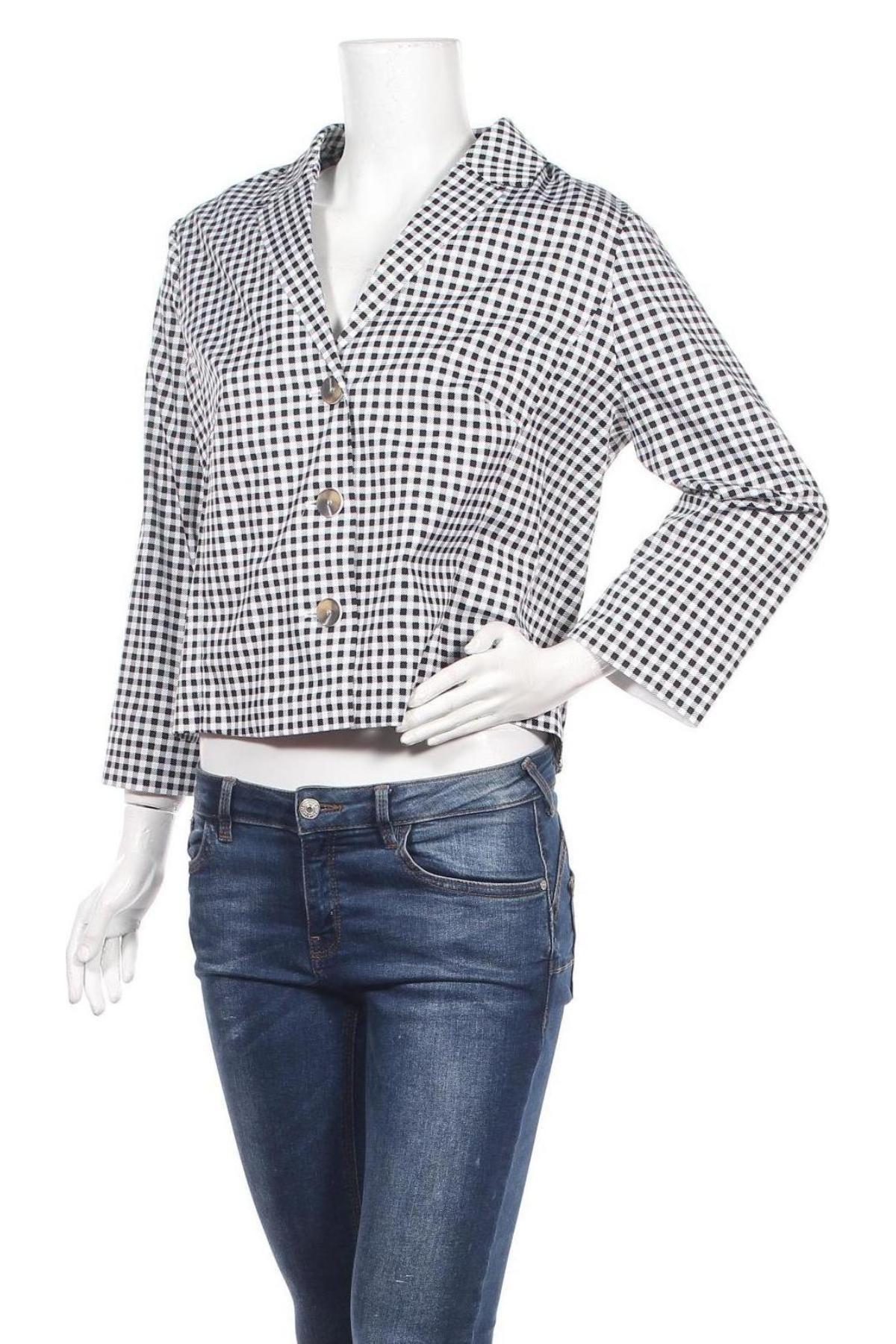 Дамско сако Daniel Hechter, Размер XL, Цвят Бял, 97% памук, 3% еластан, Цена 27,03лв.