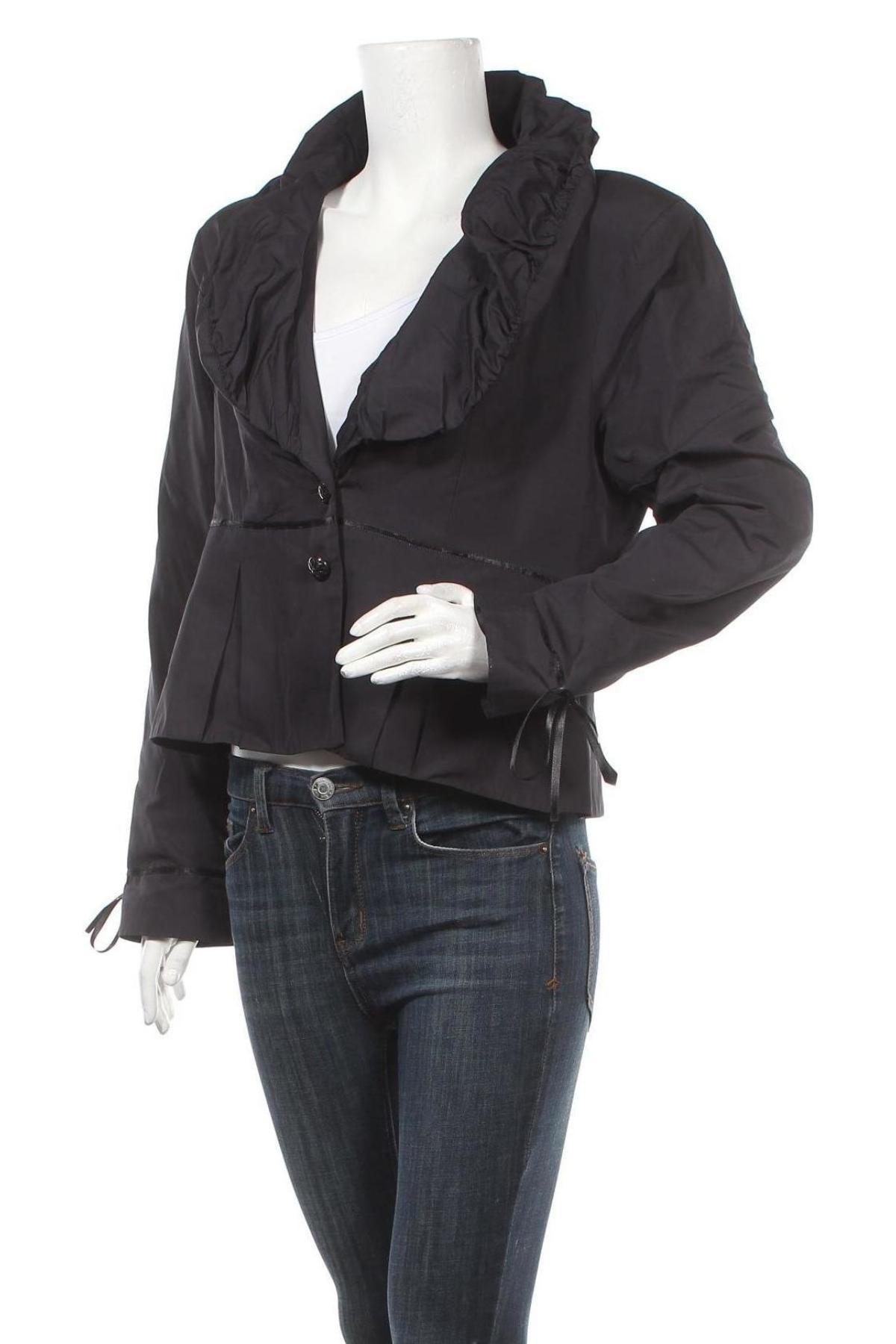 Дамско сако La Mode Est A Vous, Размер XL, Цвят Син, Полиестер, Цена 19,00лв.