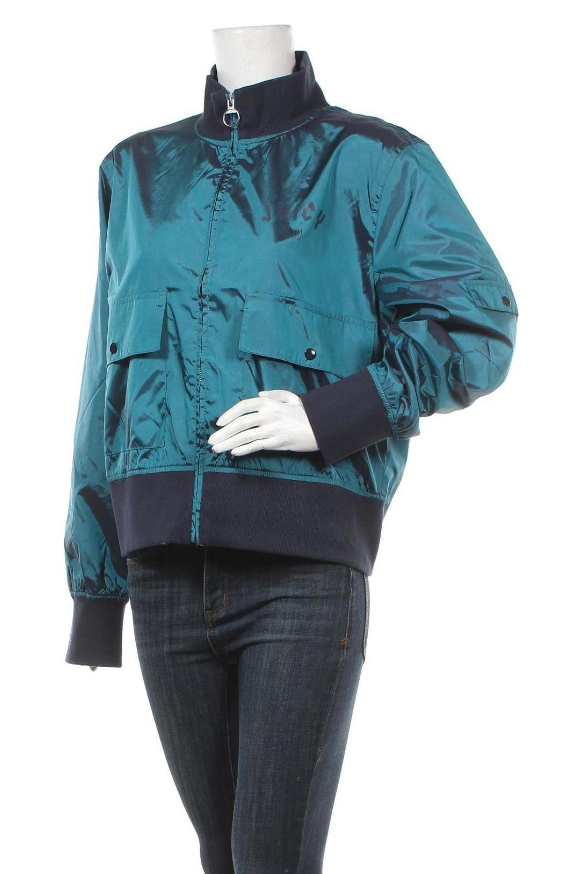 Дамско яке Juicy Couture, Размер XL, Цвят Зелен, Полиестер, Цена 22,90лв.