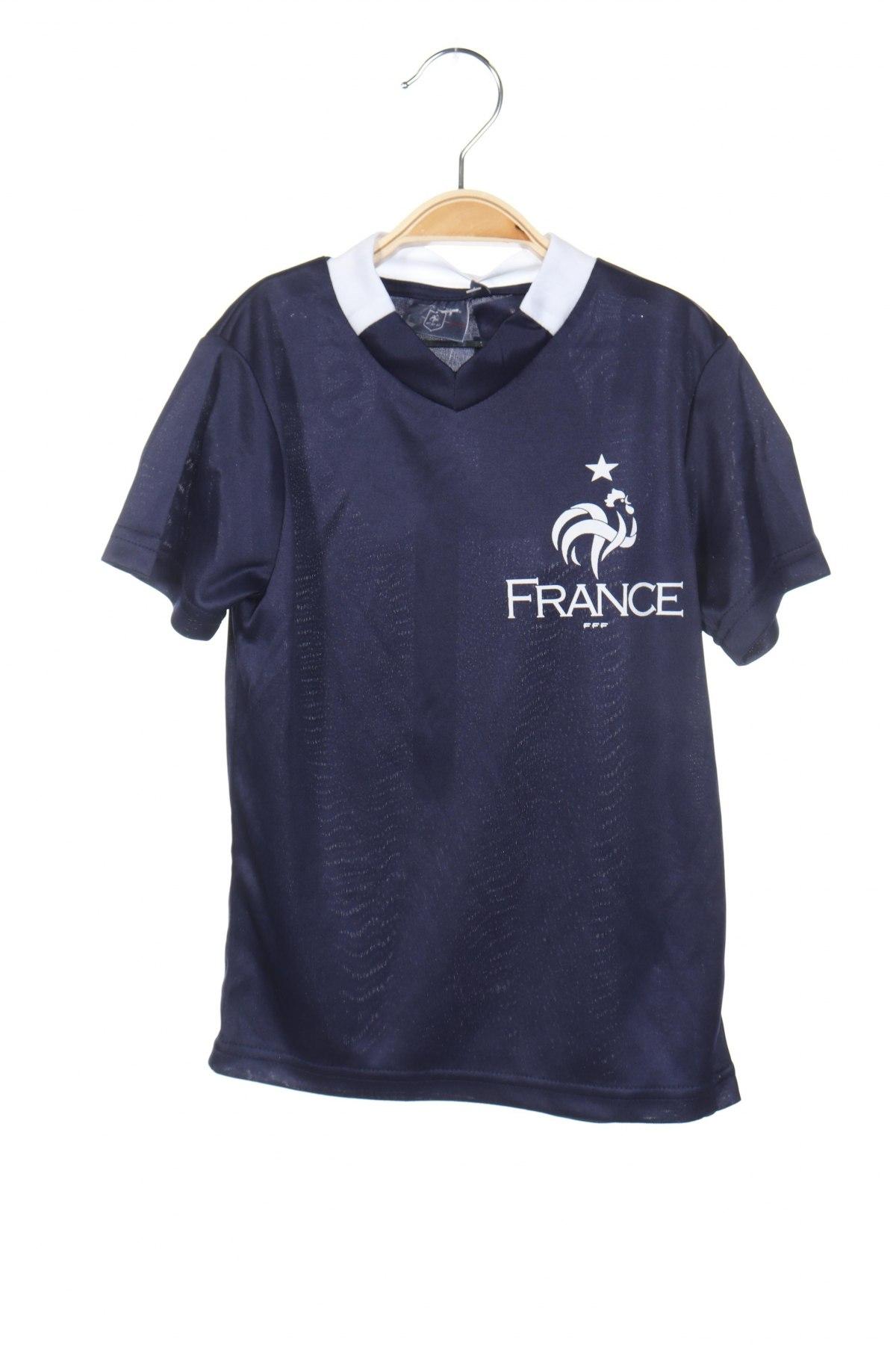 Παιδικό μπλουζάκι FFF France, Μέγεθος 3-4y/ 104-110 εκ., Χρώμα Μπλέ, Πολυεστέρας, Τιμή 3,79€
