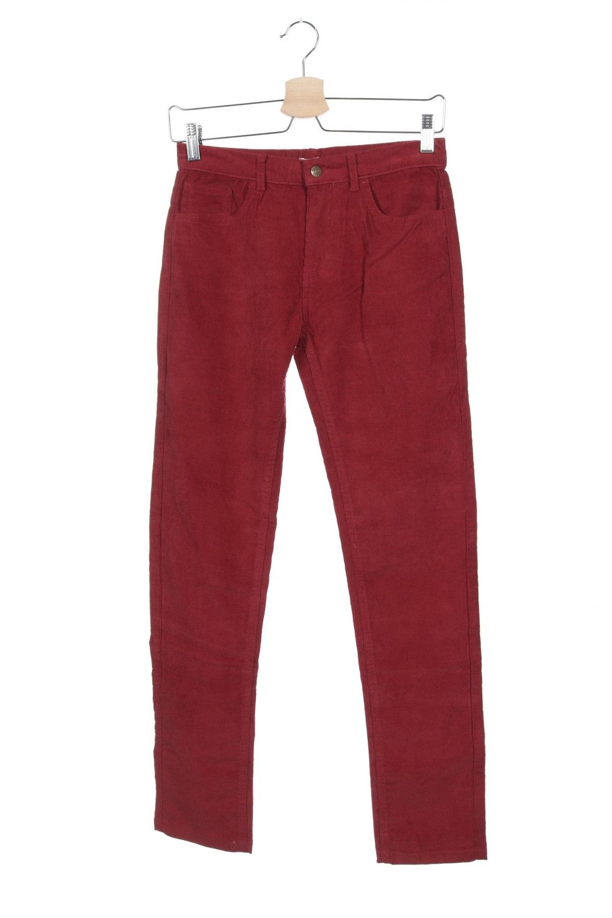 Παιδικό κοτλέ παντελόνι Gocco, Μέγεθος 11-12y/ 152-158 εκ., Χρώμα Κόκκινο, 70% βαμβάκι, 28% πολυεστέρας, 2% ελαστάνη, Τιμή 5,69€