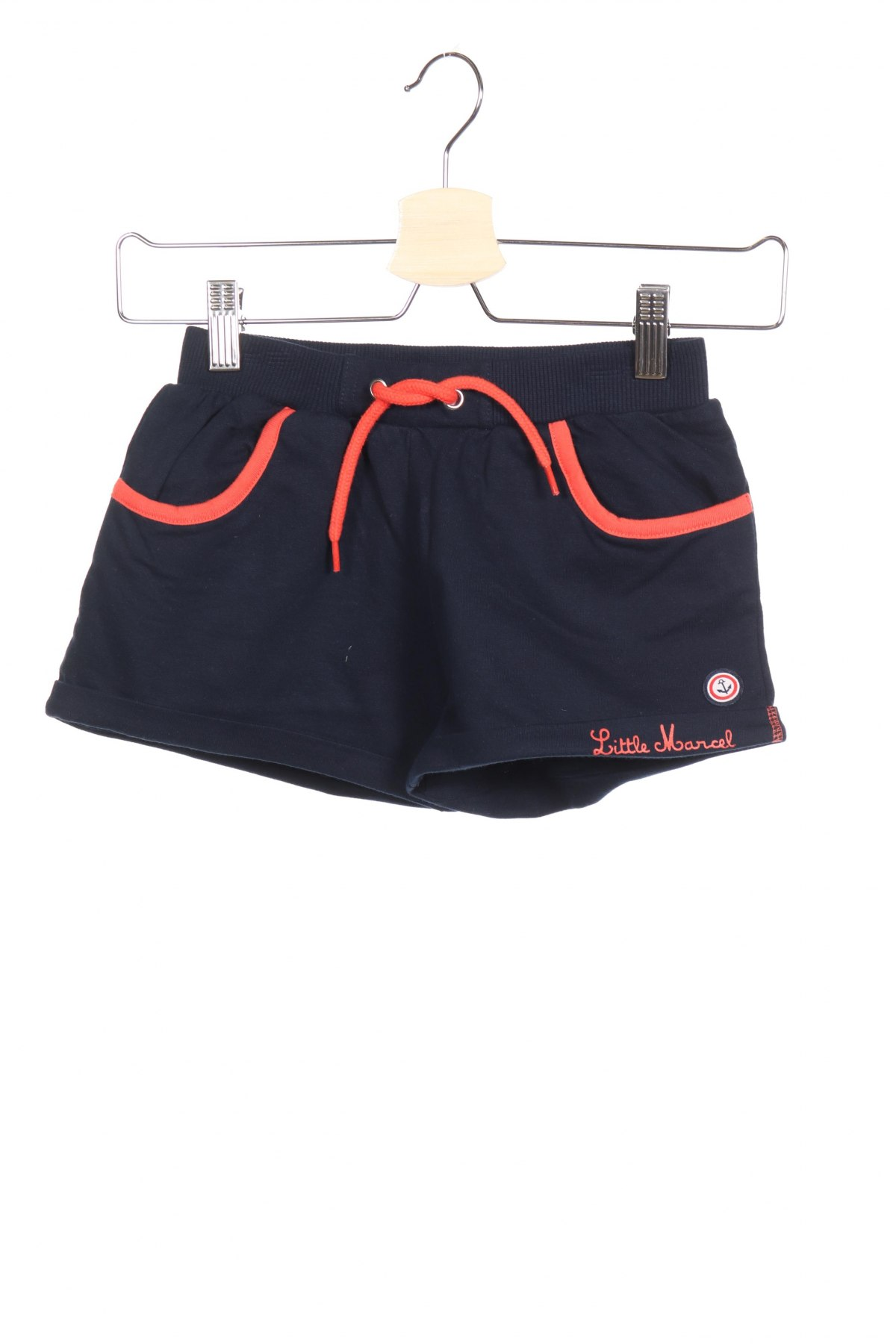 Παιδικό κοντό παντελόνι Little Marcel, Μέγεθος 7-8y/ 128-134 εκ., Χρώμα Μπλέ, Βαμβάκι, Τιμή 12,06€