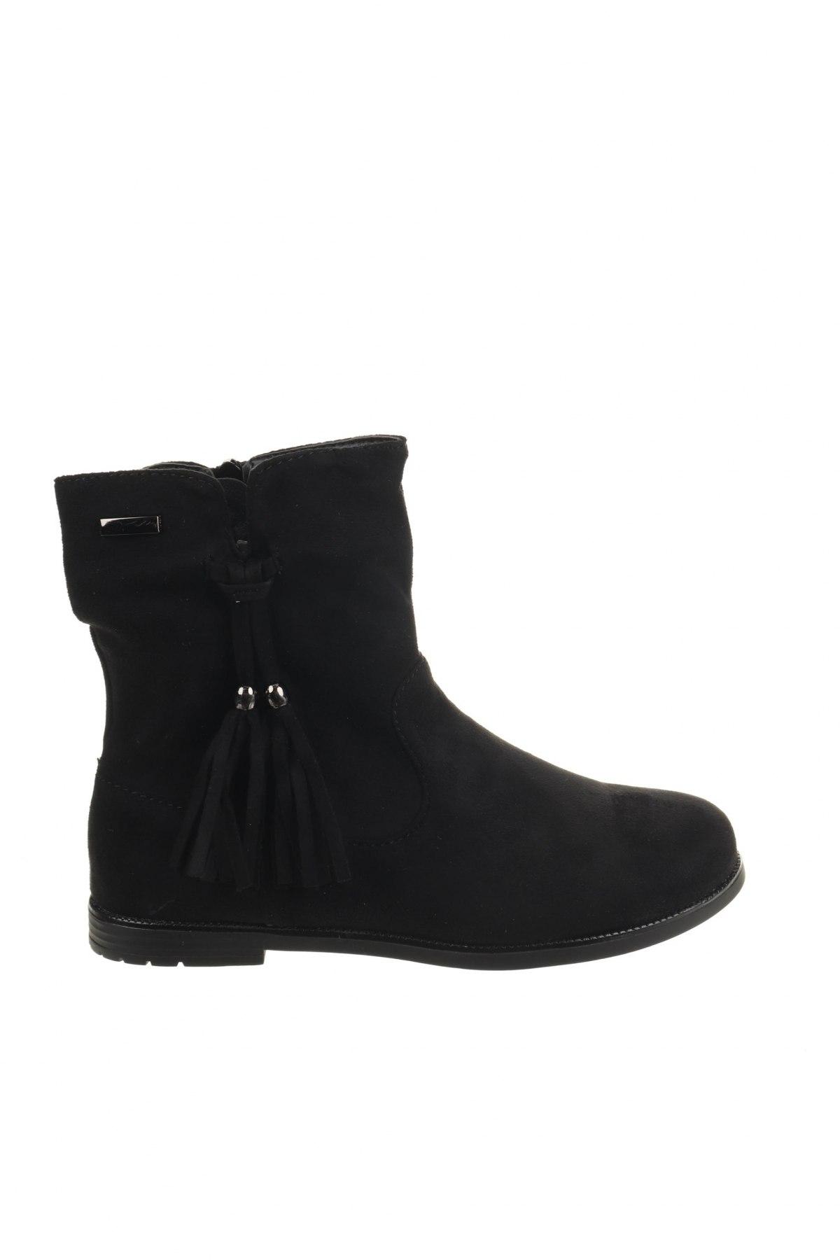 Παιδικά παπούτσια Super mode, Μέγεθος 34, Χρώμα Μαύρο, Κλωστοϋφαντουργικά προϊόντα, Τιμή 17,81€