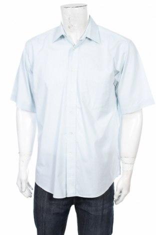 Ανδρικό πουκάμισο Barisal, Μέγεθος M, Χρώμα Μπλέ, 100% βαμβάκι, Τιμή 9,90€