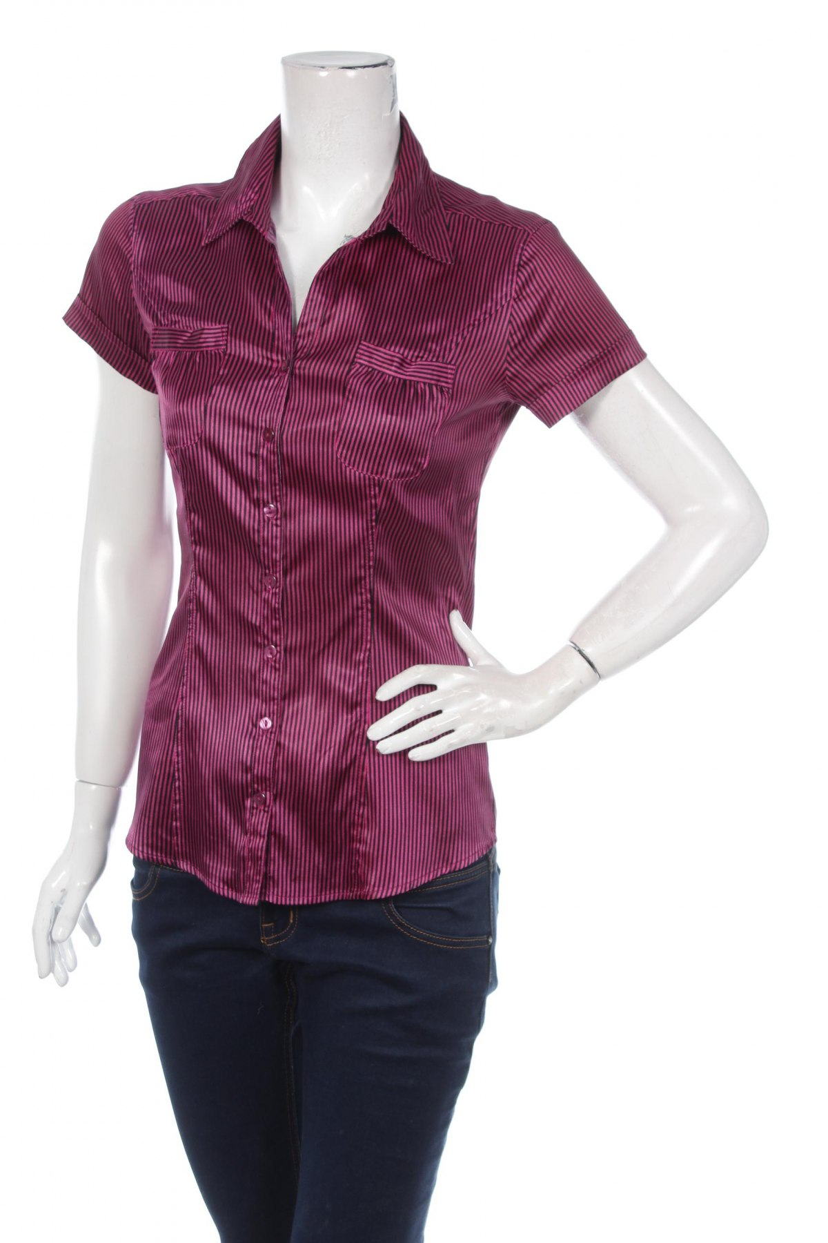 Γυναικείο πουκάμισο Amisu, Μέγεθος M, Χρώμα Ρόζ , Τιμή 10,52€