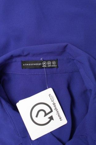 Γυναικείο πουκάμισο Atmosphere, Μέγεθος L, Χρώμα Μπλέ, Πολυεστέρας, Τιμή 11,13€