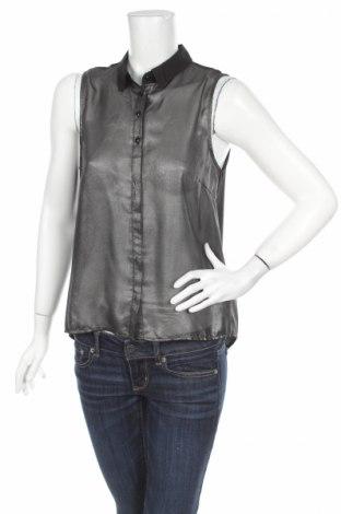Дамска риза Outfitters Nation, Размер M, Цвят Сребрист, Полиестер, Цена 5,89лв.