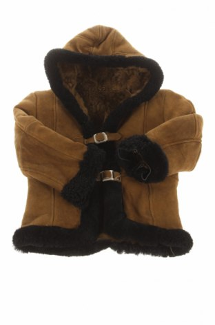 Palton din piele pentru copii
