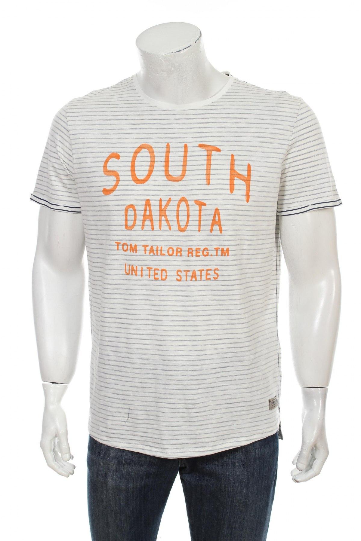 later fashion factory price Herren T-Shirt Tom Tailor