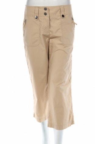 Дамски панталон New York & Company, Размер S, Цвят Бежов, 100% памук, Цена 7,36лв.