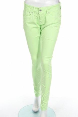 Dámské kalhoty  Pepe Jeans, Rozměr M, Barva Zelená, 99% bavlna, 1% elastan, Cena  323,00Kč