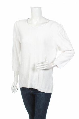 Dámský svetr Un Deux Trois, Rozměr XL, Barva Bílá, 40% viskóza, 40% polyamide, 20% bavlna, Cena  290,00Kč