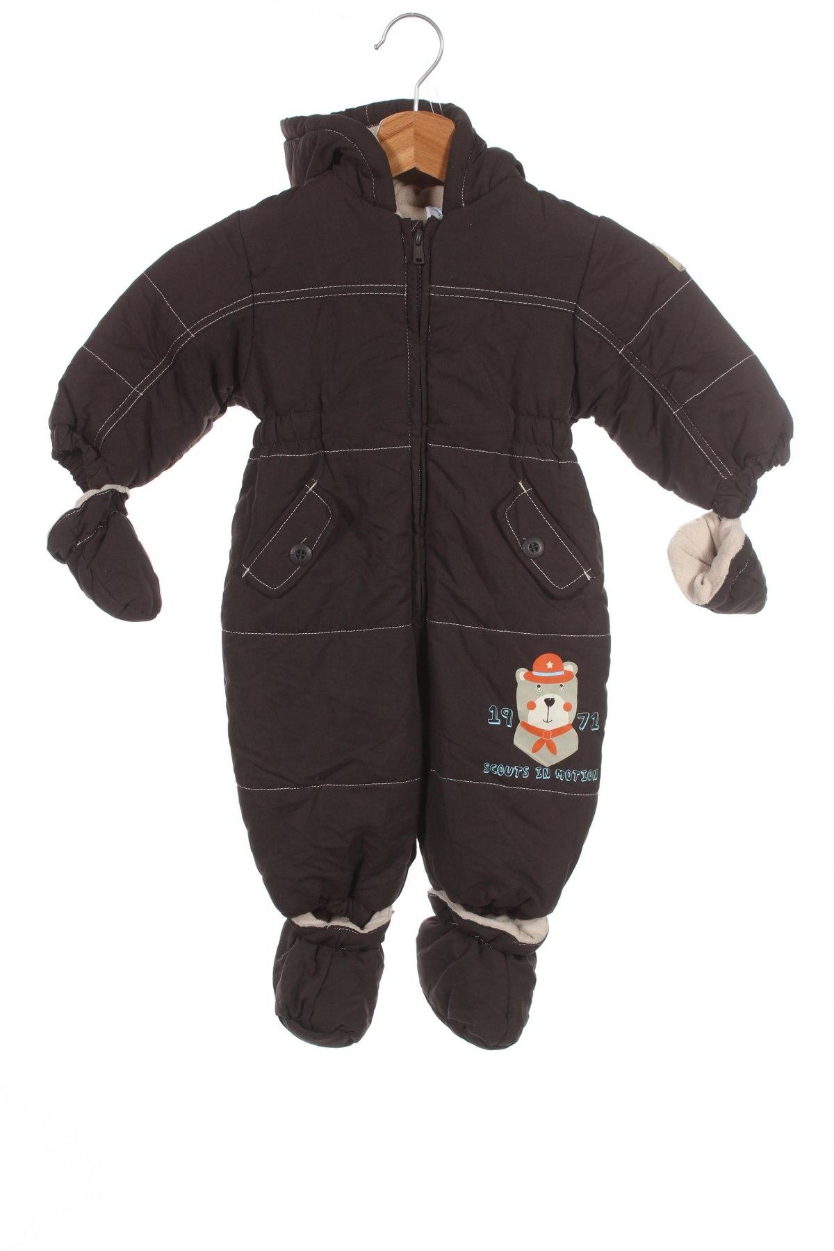 Детски космонавт Baby Club, Размер 6-9m/ 68-74 см, Цвят Кафяв, Полиестер, Цена 29,90лв.