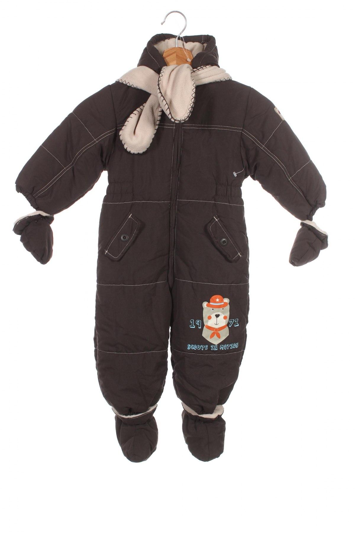 Детски космонавт Baby Club, Размер 18-24m/ 86-98 см, Цвят Кафяв, Полиестер, Цена 39,20лв.