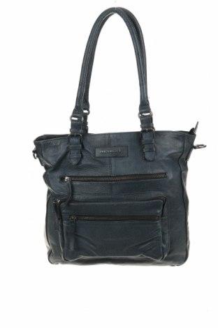 Дамска чанта FREDsBRUDER, Цвят Син, Естествена кожа, Цена 124,27лв.