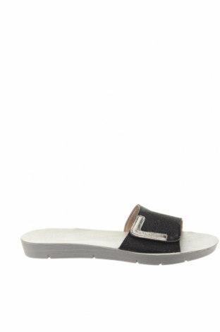 Papuci Inblu, Mărime 38, Culoare Negru, Textil, Preț 72,53 Lei