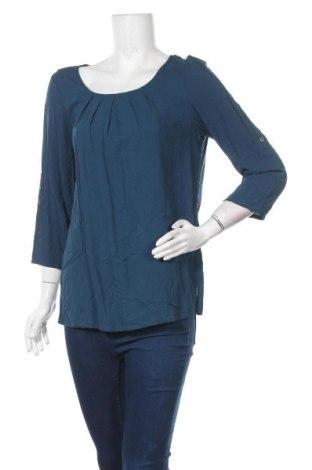 Γυναικεία μπλούζα Bon'a Parte, Μέγεθος L, Χρώμα Μπλέ, Βισκόζη, Τιμή 8,83€