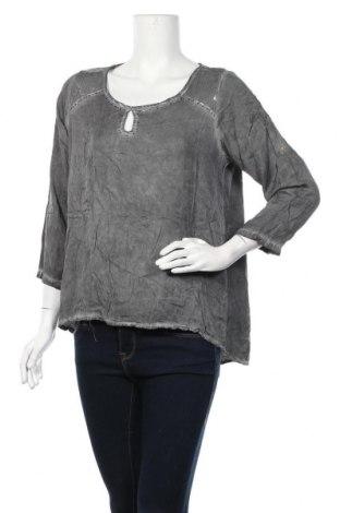 Γυναικεία μπλούζα Di Stefano, Μέγεθος M, Χρώμα Γκρί, Βισκόζη, Τιμή 4,42€