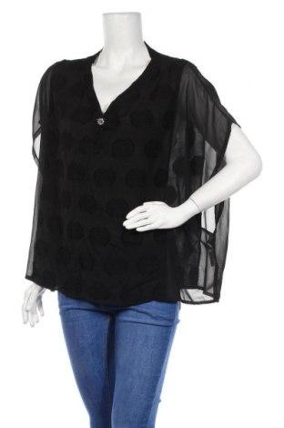 Γυναικεία μπλούζα Gaudi, Μέγεθος L, Χρώμα Μαύρο, 85% βισκόζη, 15% πολυαμίδη, Τιμή 21,65€