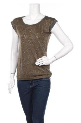 Дамска блуза Koroshi, Размер XS, Цвят Зелен, 100% вискоза, Цена 12,18лв.