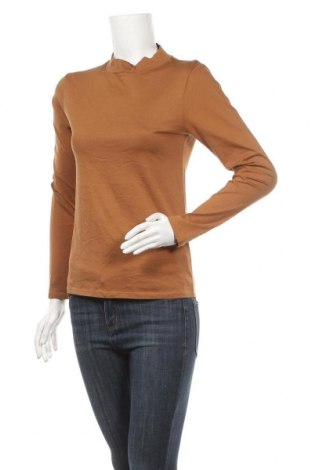 Γυναικεία μπλούζα Mark Adam, Μέγεθος L, Χρώμα Καφέ, Βαμβάκι, Τιμή 9,87€