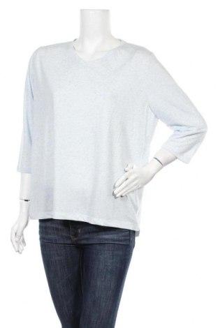 Γυναικεία μπλούζα Mark Adam, Μέγεθος XL, Χρώμα Μπλέ, 90% πολυεστέρας, 10% λινό, Τιμή 8,31€