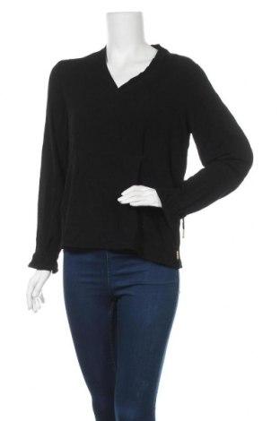Γυναικεία μπλούζα Noa Noa, Μέγεθος L, Χρώμα Μαύρο, Βισκόζη, Τιμή 18,51€