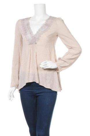 Γυναικεία μπλούζα Noa Noa, Μέγεθος XS, Χρώμα  Μπέζ, Βισκόζη, Τιμή 19,10€