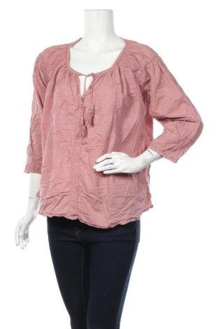 Γυναικεία μπλούζα Noa Noa, Μέγεθος L, Χρώμα Ρόζ , Βαμβάκι, Τιμή 7,60€
