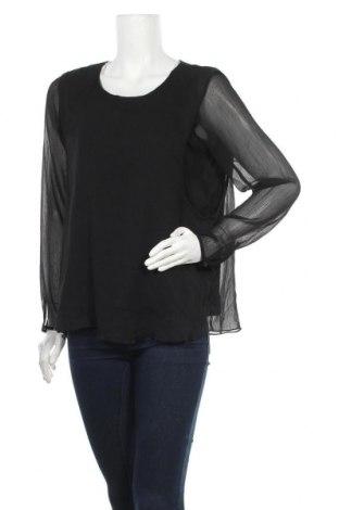 Дамска блуза Object, Размер M, Цвят Черен, Полиестер, Цена 3,00лв.