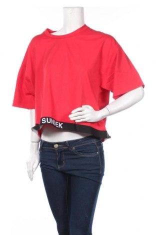 Γυναικεία μπλούζα Sundek, Μέγεθος L, Χρώμα Κόκκινο, Βαμβάκι, Τιμή 11,56€