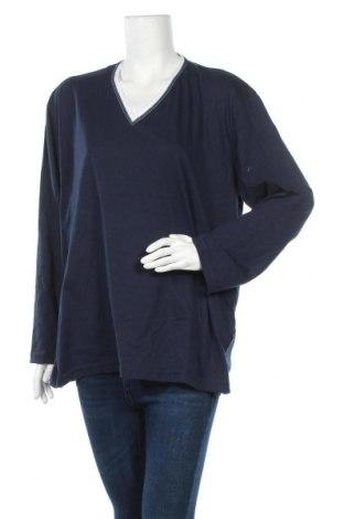 Γυναικεία μπλούζα Van Laack, Μέγεθος XL, Χρώμα Μπλέ, 60% βαμβάκι, 40% πολυεστέρας, Τιμή 22,21€